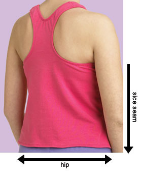 How to Measure for your Made-to-Order Tankini